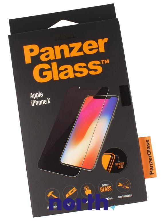 Szkło hartowane Panzer Glass na wyświetlacz do smartfona Apple iPhone X 2622,0