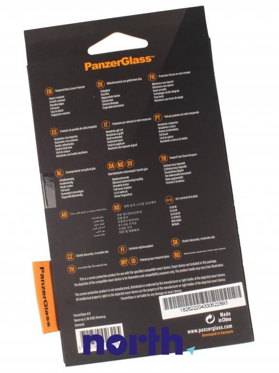 Szkło hartowane Panzer Glass na wyświetlacz do smartfona Apple iPhone X 2622,1