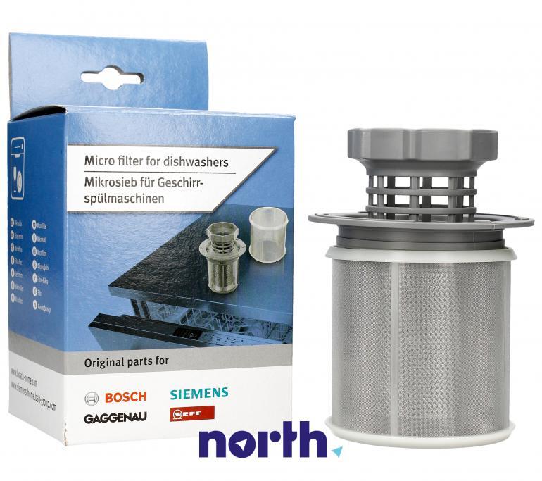 Filtr 2w1 10002494 do zmywarki Bosch/Siemens Silence, Silence Comfort, Logixx, SilencePlus,0
