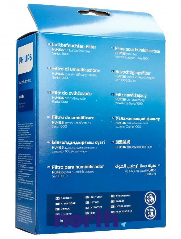 Filtr do nawilżacza powietrza Philips HU4136/10,1