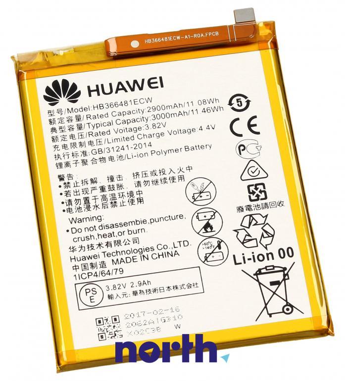 Bateria do smartfona Huawei Akumulator GSM HB366481ECW,0