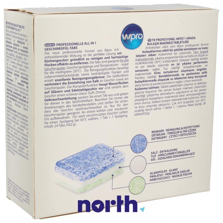 Tabletki do zmywarki W-PRO 484010678175,1