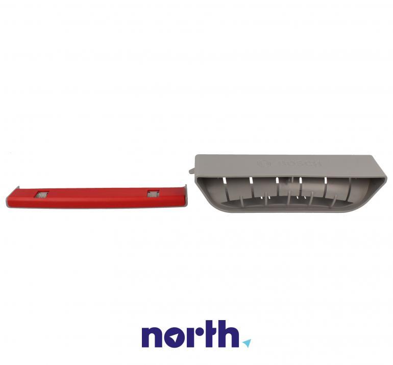 Uchwyt przedni dolnego kosza do zmywarki Bosch 10000967,3