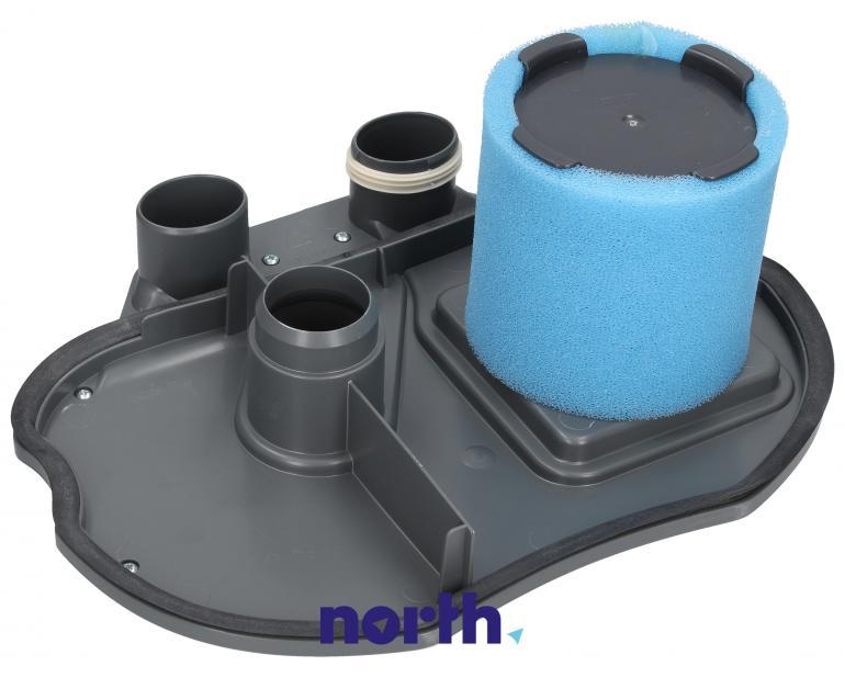 Pokrywa górna zbiornika zespołu filtra wodnego do odkurzacza Zelmer 11018980,0