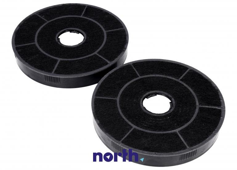 Filtr węglowy okrągły 1160826 do okapu Amica 16cm 2szt.,1