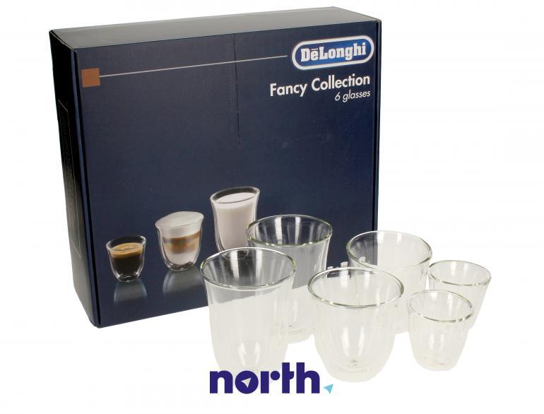 Szklanki do kawy do ekspresu DeLonghi DLSC302 5513296671,0