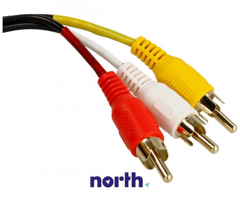 84504 kabel JACK 3,5mm 4pin / 3x CINCH DELOCK,1