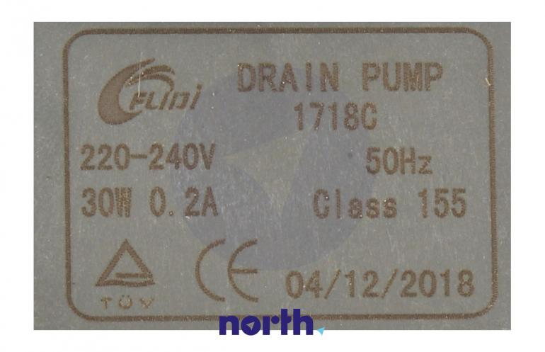 Pompa odpływowa do zmywarki Gorenje 556915,3
