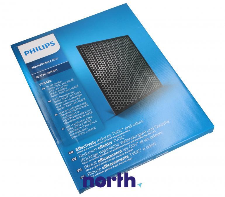 Filtr węglowy aktywny 1szt. do oczyszczacza powietrza Philips NanoProtect FY343210,0