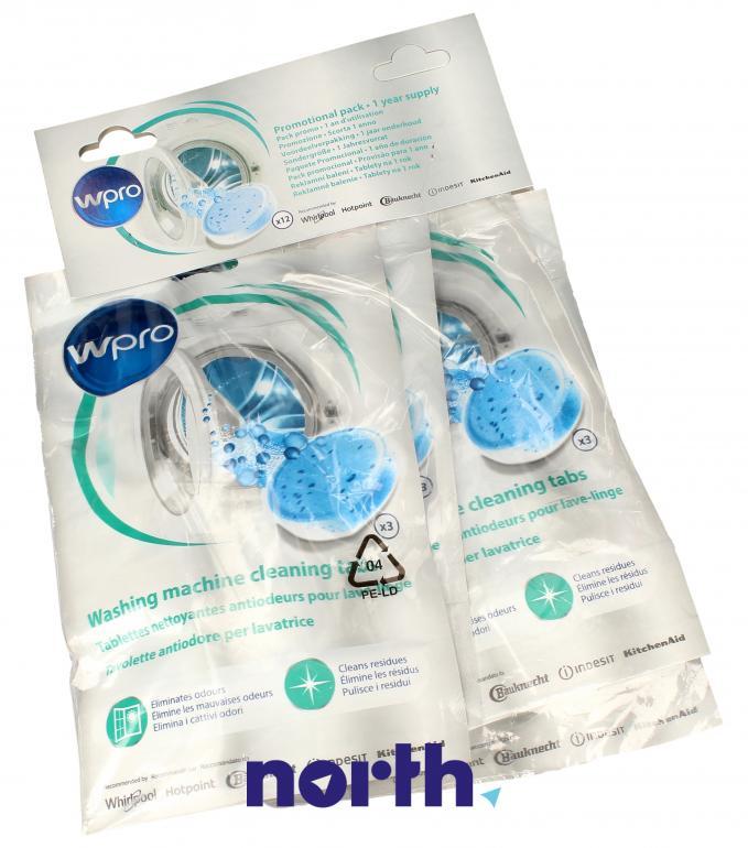 Tabletki odświeżające do pralki WHIRLPOOL/INDESIT 484000008646,1