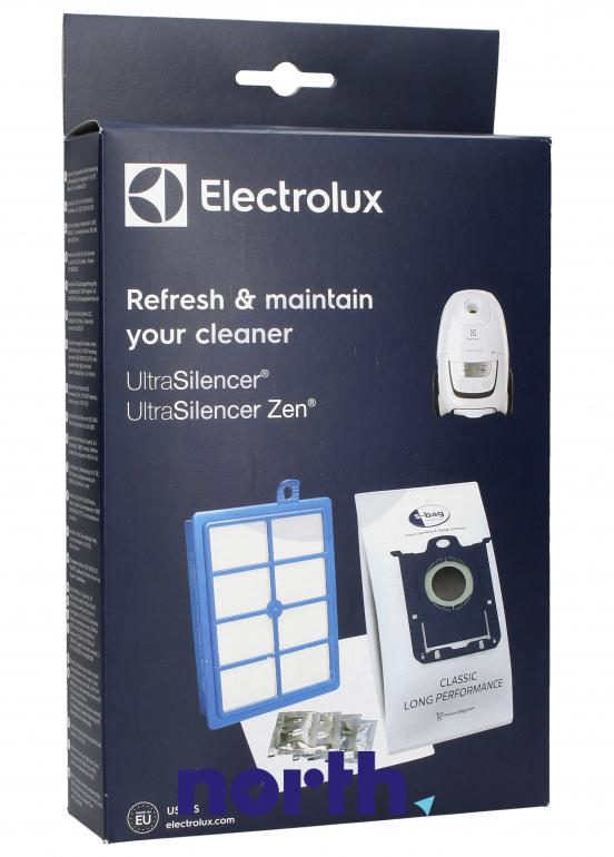 (10w1) Zestaw startowy USK9S do odkurzacza Electrolux UltraSilencer,0