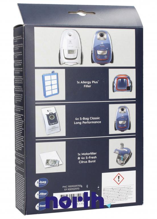 (10w1) Zestaw startowy USK9S do odkurzacza Electrolux UltraSilencer,1