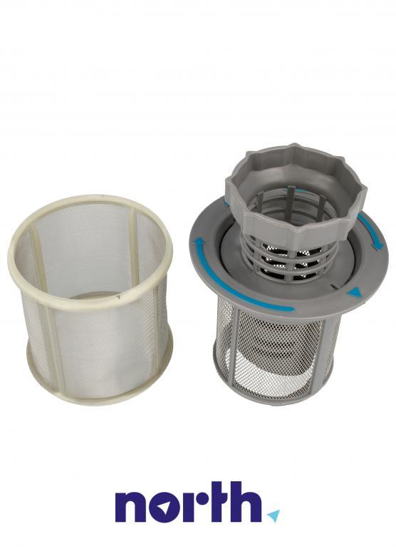 Filtr 2w1 za 10002494 Bosch/Siemens do zmywarki Logixx, SilencePlus, Silence, Silence Comfort,5