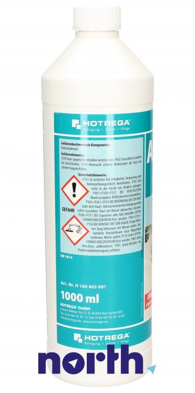 Środek do udrożniania rur (płyn) Hotrega 1l,1