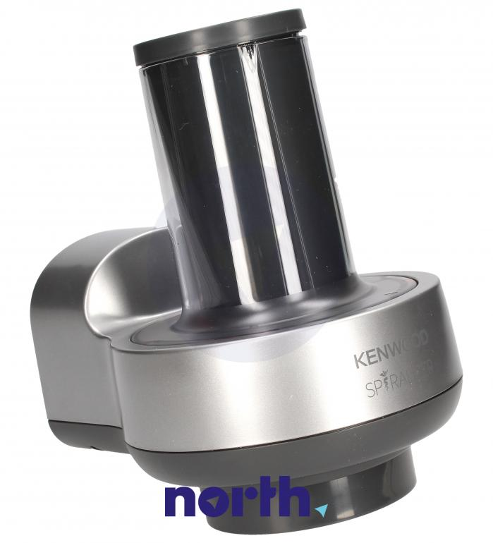 Spiralizer do warzywnego spaghetti, wstążek i tagliatelle do robota kuchennego Kenwood KAX700PL AW20010015,3