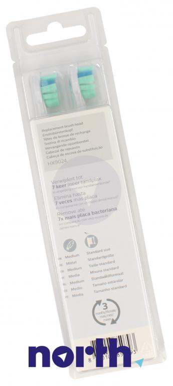 Końcówki Sonicare do szczoteczki do zębów HX9024/10,1
