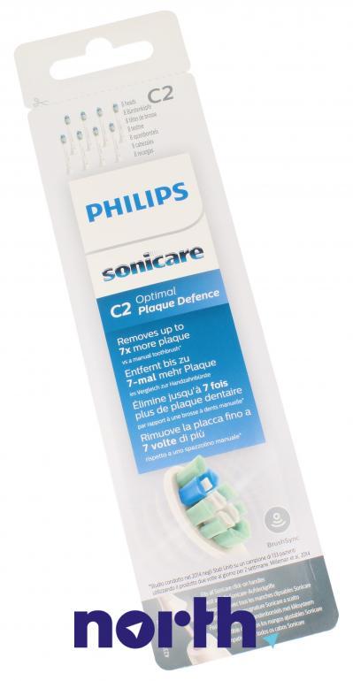 Końcówki Sonicare (8szt.) ProResults do szczoteczki do zębów HX9028/10,0