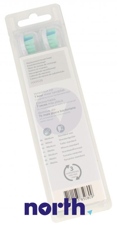 Końcówki Sonicare (8szt.) ProResults do szczoteczki do zębów HX9028/10,1
