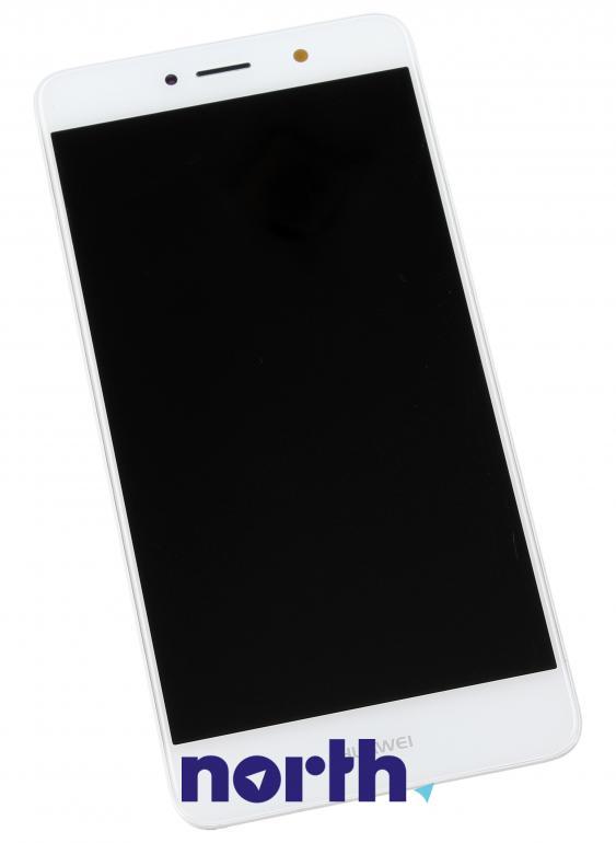 Panel dotykowy z wyświetlaczem, obudową i baterią do smartfona Huawei 02351GJV,0