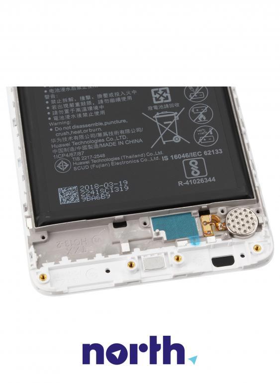 Panel dotykowy z wyświetlaczem, obudową i baterią do smartfona Huawei 02351GJV,2