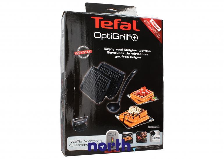 Płyty do gofrów 2 szt z chochelką do (OptiGrill+) grilla Tefal  XA723812,0