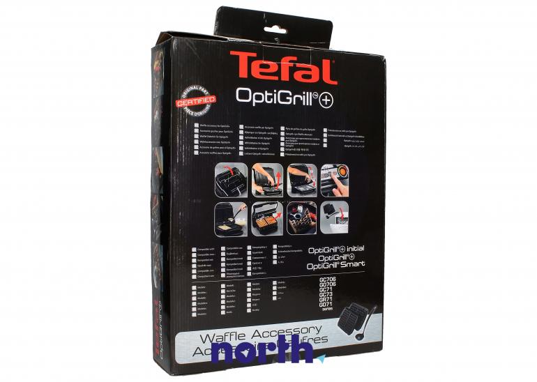 Płyty do gofrów 2 szt z chochelką do (OptiGrill+) grilla Tefal  XA723812,1