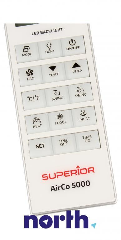 Pilot uniwersalny do klimatyzacji SUPERIOR SUPCU005 SUPCU005,2