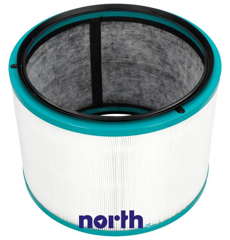Filtr HEPA zintegrowany z filtrem węglowym do oczyszczacza powietrza Dyson 96810104,0