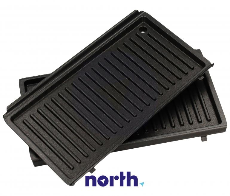 Płyty grzejne grilllowe z ociekaczem do opiekacza SW12, SW13 MultiGrill easy (DLSK153) DeLonghi 5523110001,2