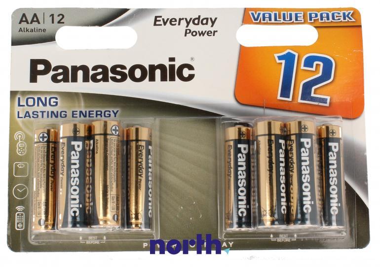 Bateria alkaliczna AA Panasonic (12szt.),0