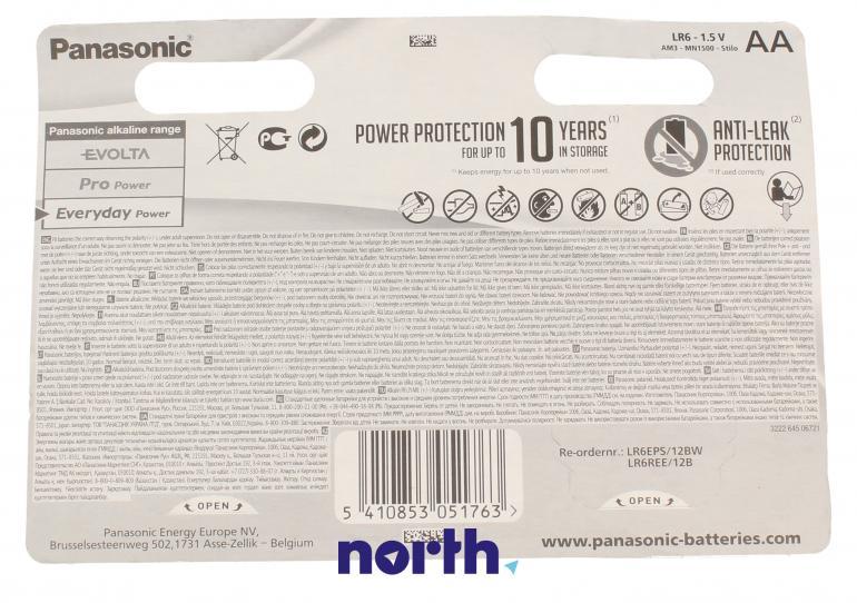 Bateria alkaliczna AA Panasonic (12szt.),1