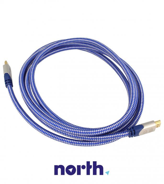 Kabel HDMI 4K Premium 3m INAKUSTIK Kabel okrągły 0042303,2