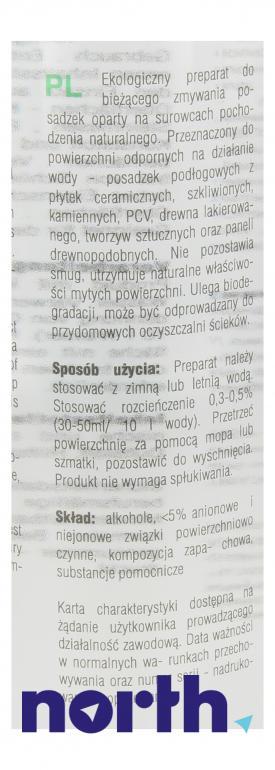 Ekologiczny środek do mycia podłóg Tenzi ECO Floor LE06/450 1szt. 450ml,4