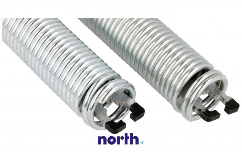 Sprężyny z linkami zawiasu do zmywarki za 00754869 Bosch (kolor czarny),4