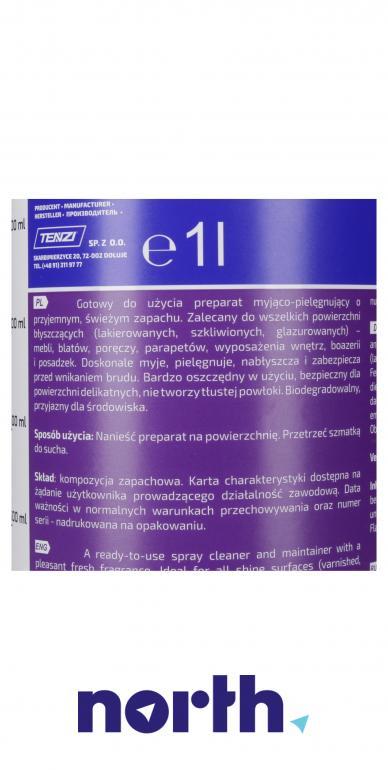 Uniwersalny środek do mycia i pielęgnacji powierzchni błyszczących Tenzi G-35/001 1l,3