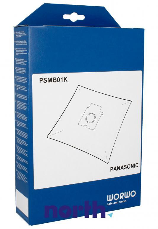 Worki PSMB01K 4szt. do odkurzacza Panasonic,0