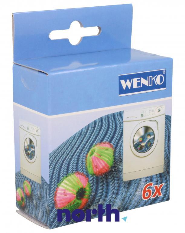 Kule zbierające sierść, włosy oraz kłaczki z ubrań do pralki SCANPART 1940002012,0