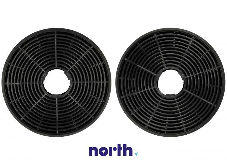 Filtr węglowy okrągły 1160825 do okapu Amica 13.7cm 2szt.,3