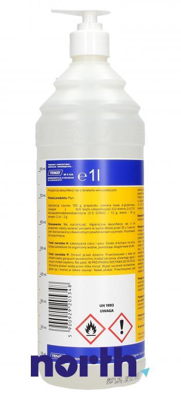 Płyn dezynfekujący do mycia rąk Tenzi DE-ZAL E 1l,1