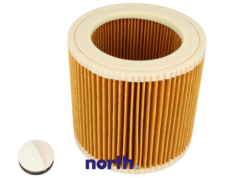 Filtr cylindryczny za 6.414-552.0 do odkurzacza Karcher,1