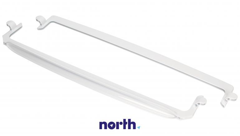 Zestaw ramek do półki szklanej (tył + przód) do lodówki Amica 1035517,3