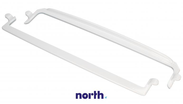 Zestaw ramek do półki szklanej (tył + przód) do lodówki Amica 1035517,4