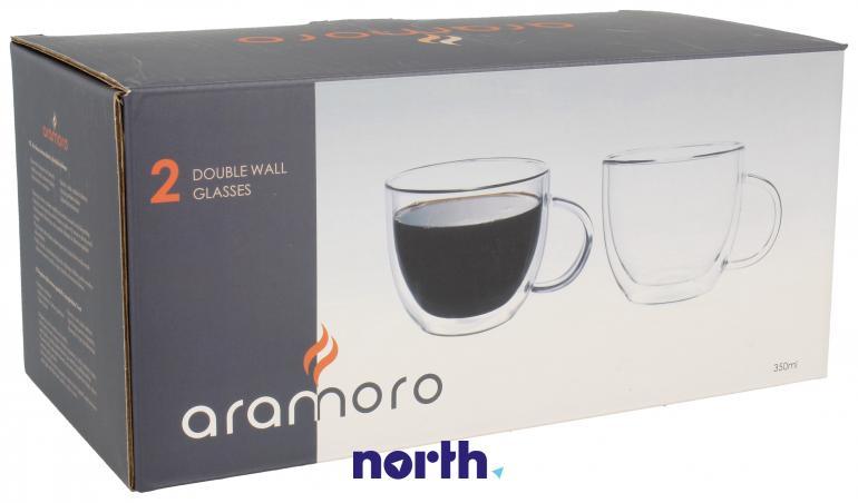 Szklanki termiczne do kawy 350ml Bosch 2szt.,0
