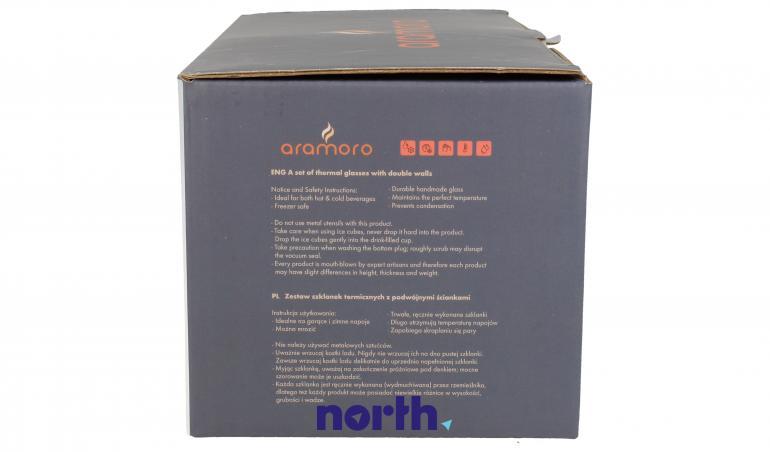 Szklanki termiczne do kawy 350ml Bosch 2szt.,1