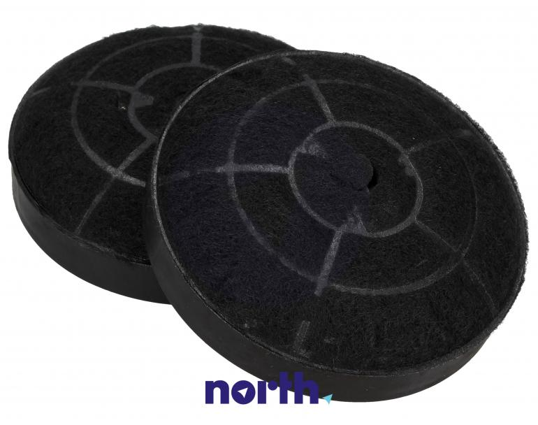 Filtr węglowy okrągły FWP 19 do okapu Amica 10cm 2szt.,0
