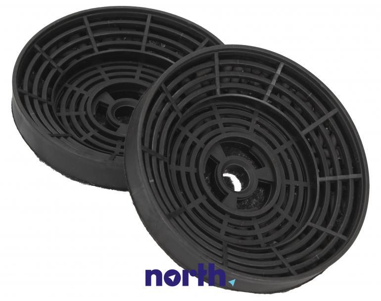 Filtr węglowy okrągły FWP 19 do okapu Amica 10cm 2szt.,1