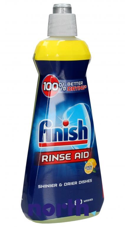 Płyn nabłyszczający cytrynowy do zmywarki Finish Rinse Aid 400ml,0