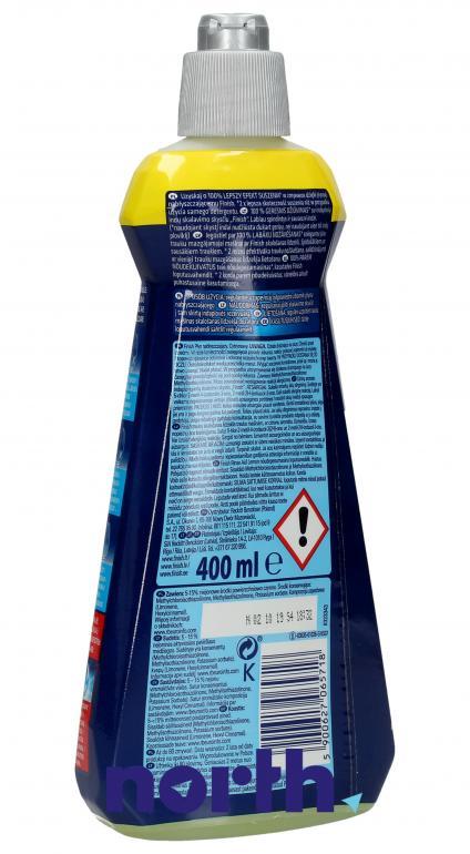 Płyn nabłyszczający cytrynowy do zmywarki Finish Rinse Aid 400ml,1
