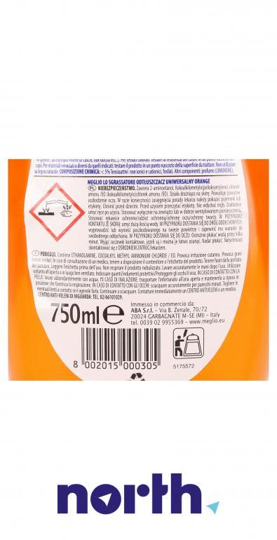 Środek odtłuszczający Meglio pomarańczowy 750ml,3