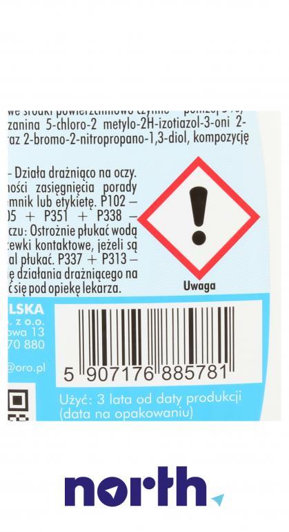Środek czyszcząco-odtłuszczający (spray) do płyty indukcyjnej ORO 500ml,3